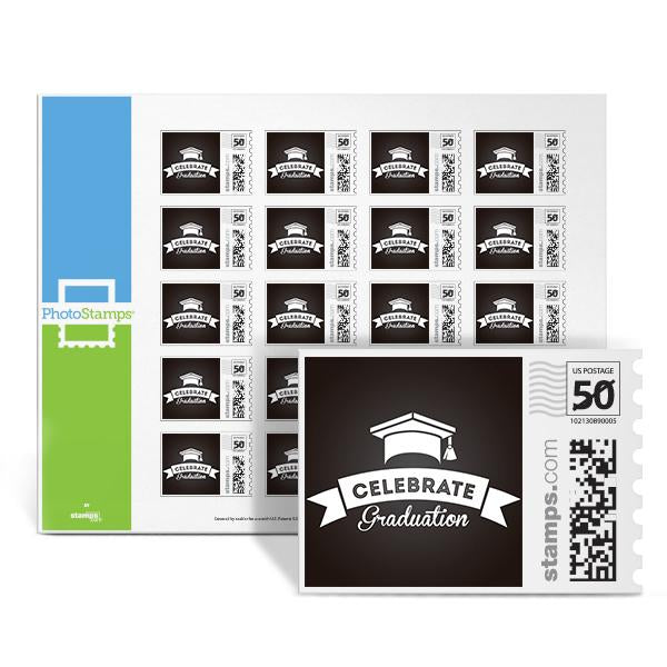 Celebrate Graduation PhotoStamps