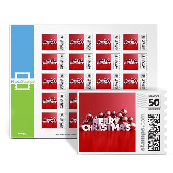 Christmas Joy PhotoStamps