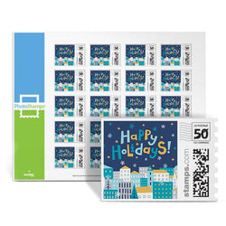 City Holiday PhotoStamps