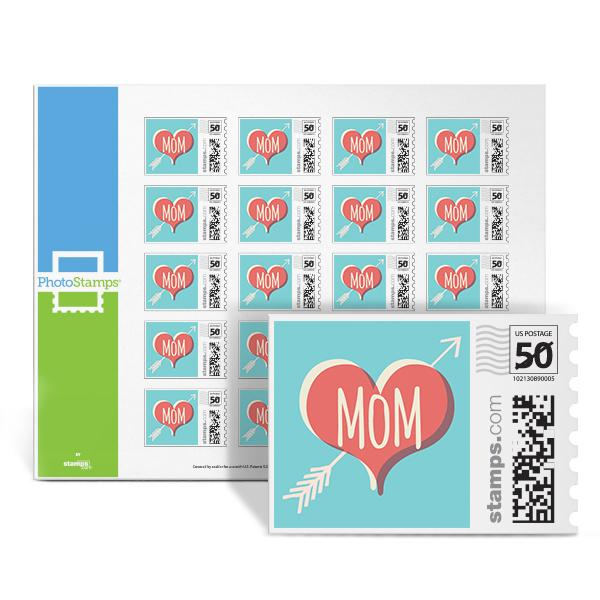 Classic Mom Tattoo PhotoStamps