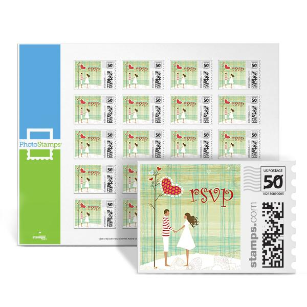 Couples - RSVP PhotoStamps