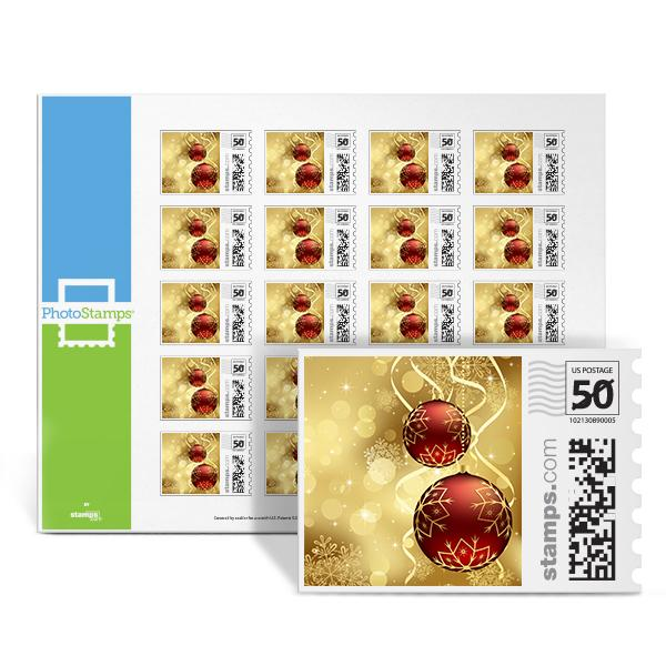 Crimson And Gold PhotoStamps