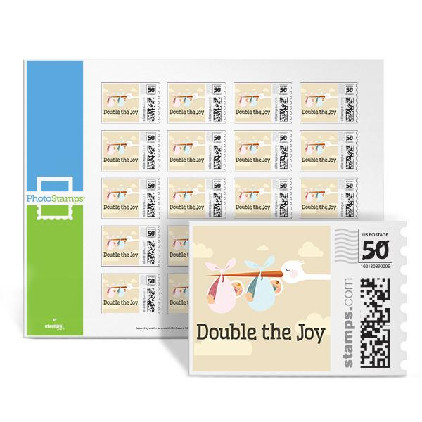 Double the Joy PhotoStamps