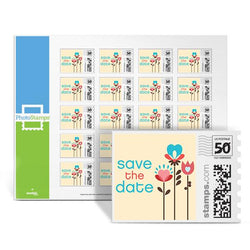 Doves - Save the Date PhotoStamps