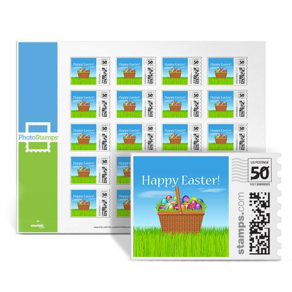 Easter Basket PhotoStamps