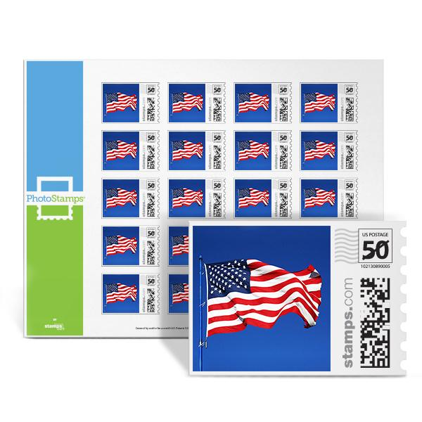 Flag PhotoStamps