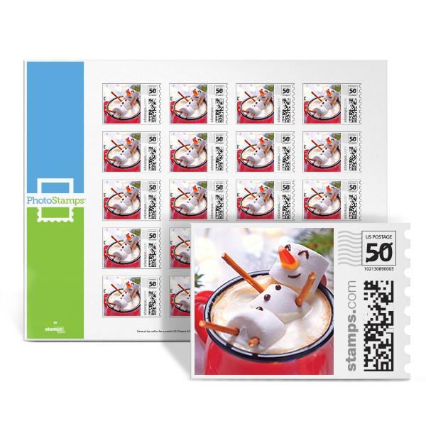 Frosty Hot Cocoa PhotoStamps