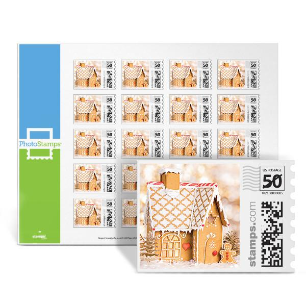 Gingerbread House PhotoStamps