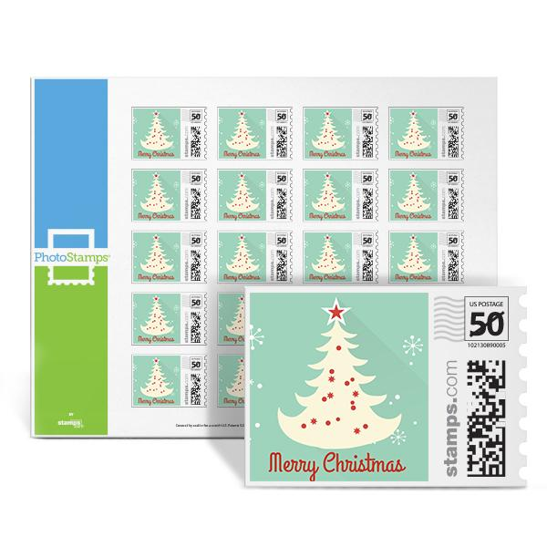 Gingerbread Tree PhotoStamps