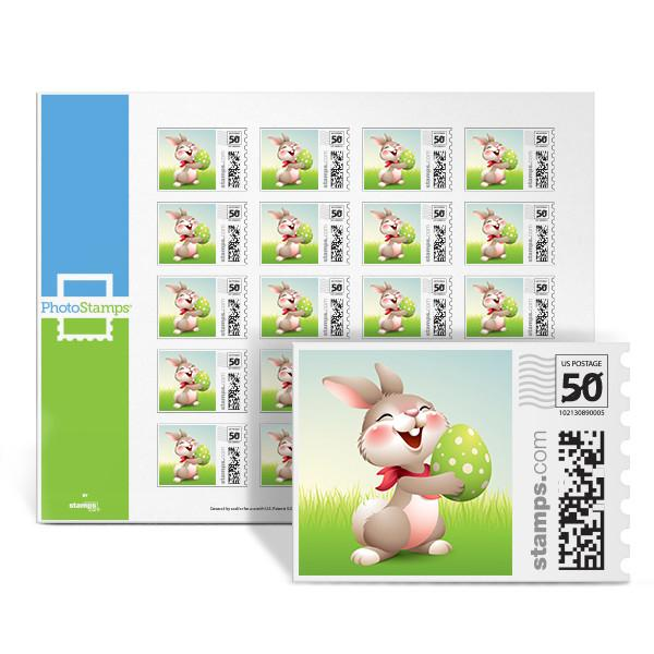 Happy Bunny PhotoStamps