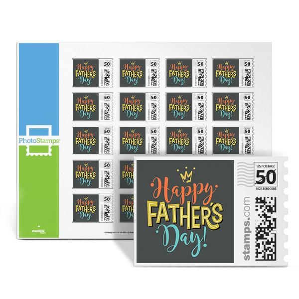 Happy Fathers' Day PhotoStamps