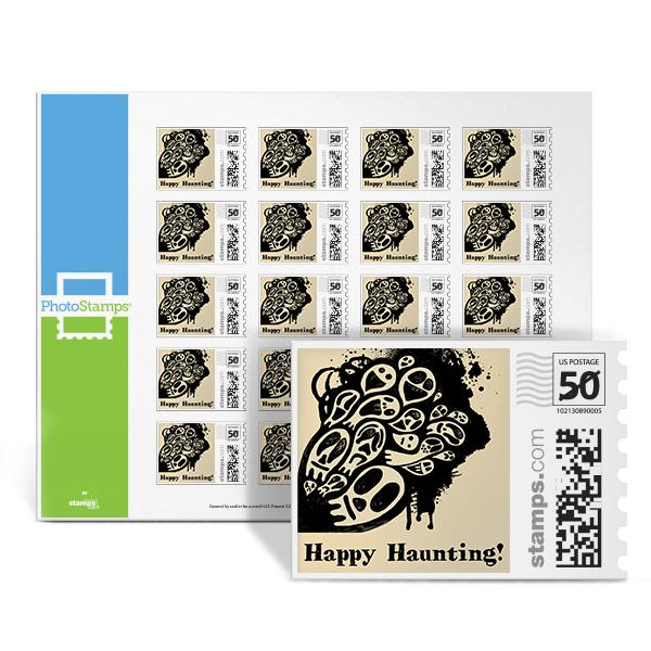Happy Haunting PhotoStamps
