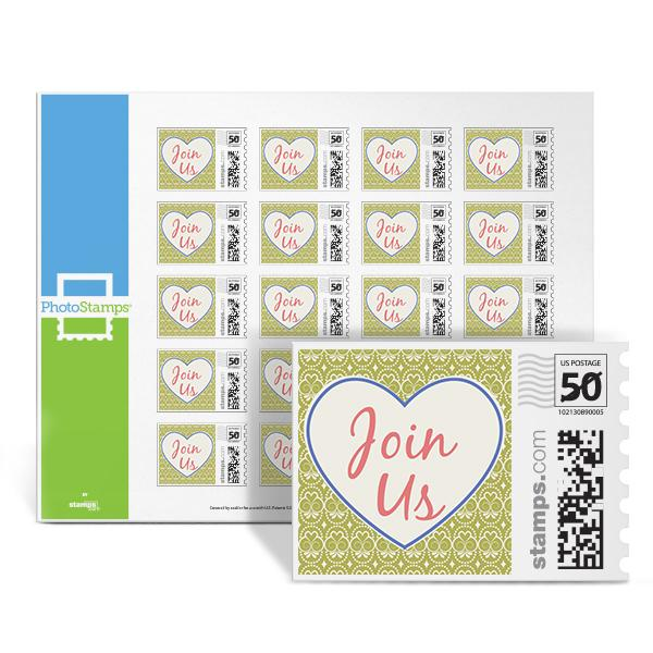 Heartfelt - Join Us PhotoStamps