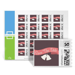 Heartfelt -Save The Date PhotoStamps