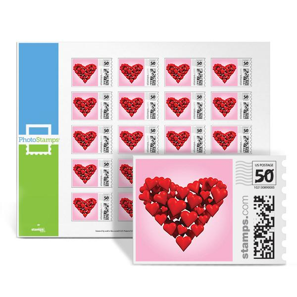 Heart Of Hearts PhotoStamps