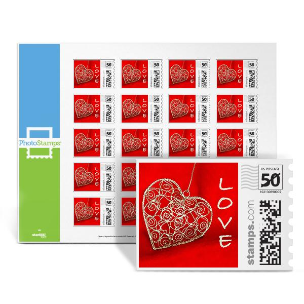 Heart Pendant PhotoStamps