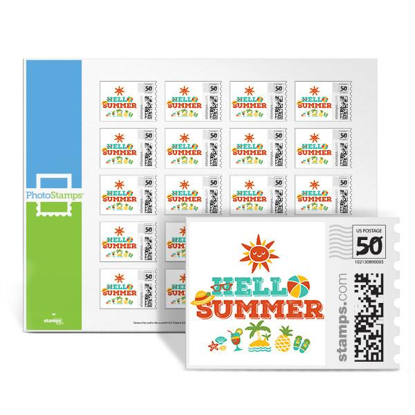 Hello Summer PhotoStamps