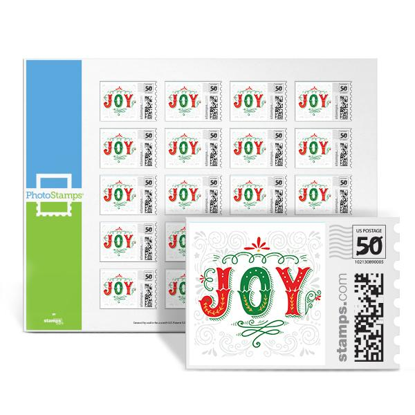 Holiday Joy PhotoStamps