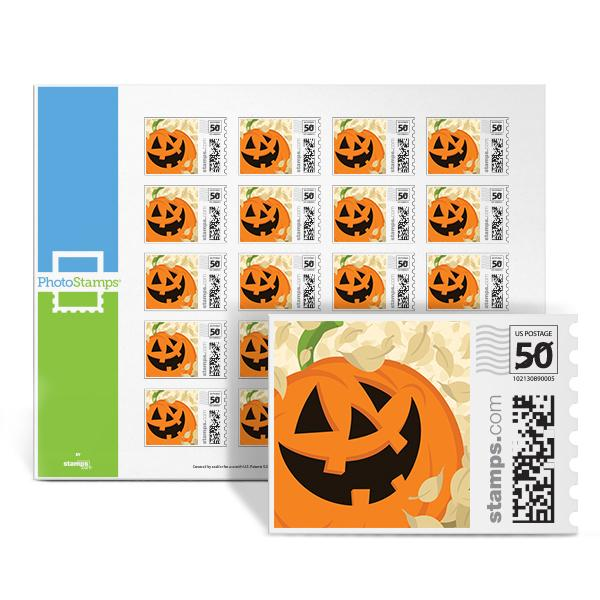 Jack-O-Lantern PhotoStamps