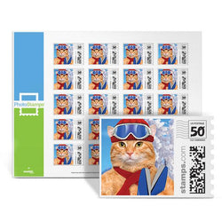 Kitty Shreds PhotoStamps