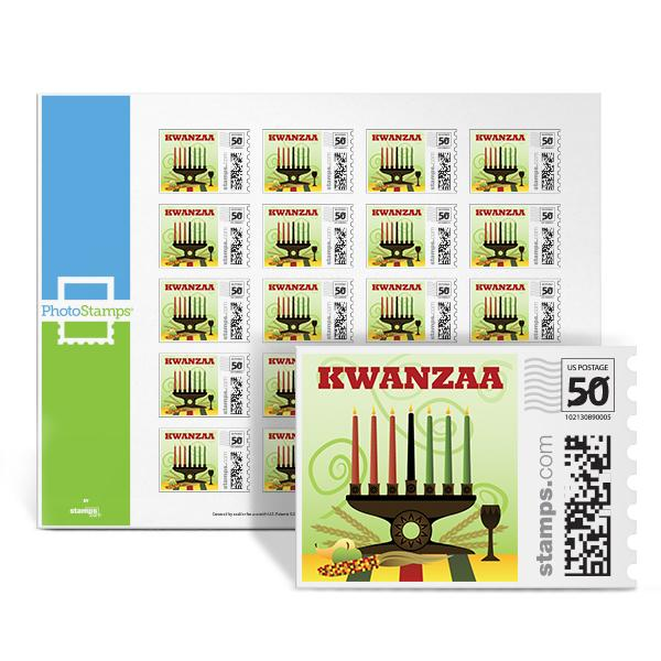 Kwanzaa Celebration PhotoStamps
