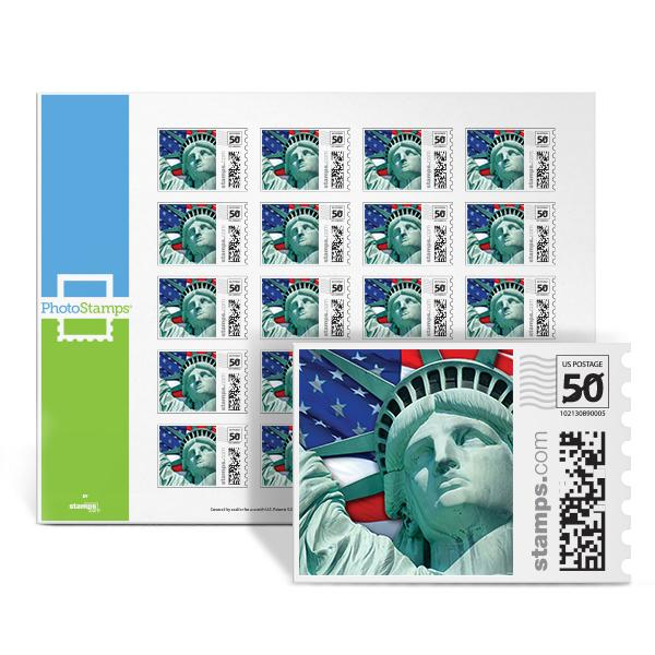 Lady Liberty PhotoStamps