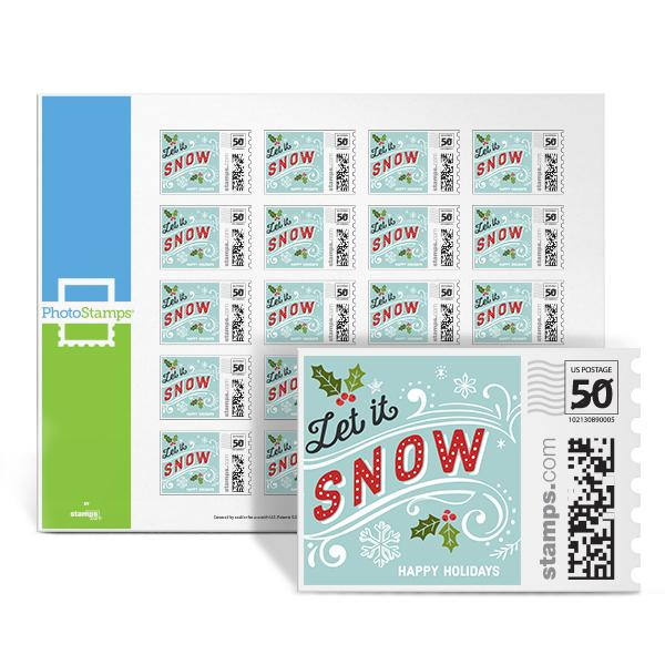 Let it Snow PhotoStamps