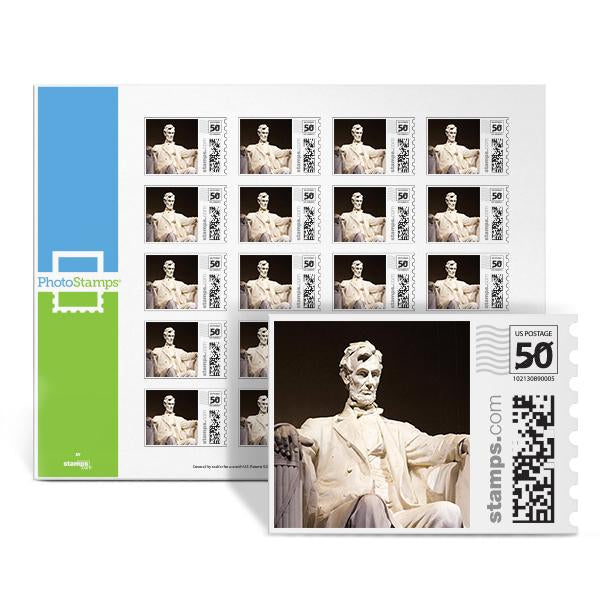 Lincoln Memorial PhotoStamps