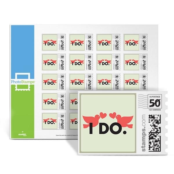Lips - I Do PhotoStamps