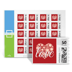 Love Heart - Red PhotoStamps