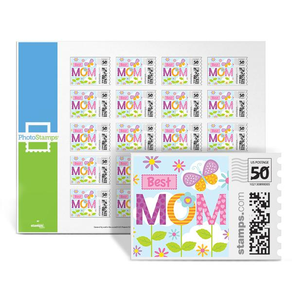 Mother's Garden PhotoStamps