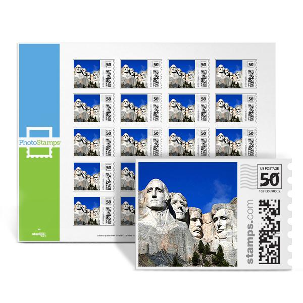 Mt Rushmore PhotoStamps