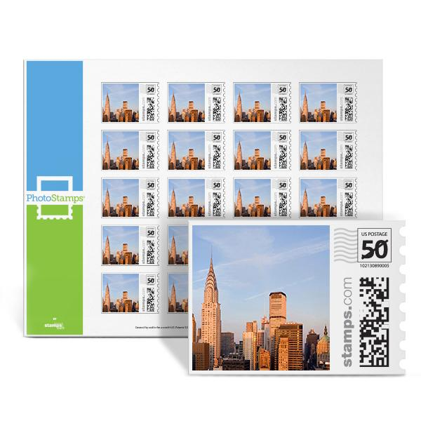 New York City PhotoStamps