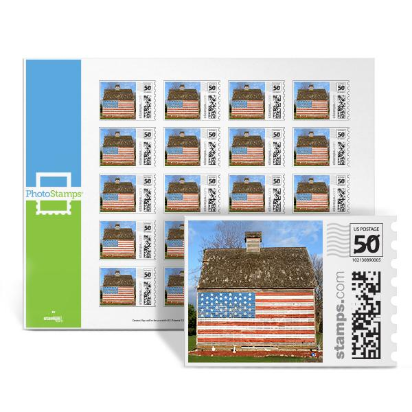 Patriot House PhotoStamps