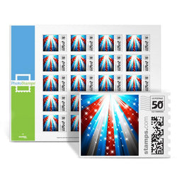 Patriotic Light PhotoStamps