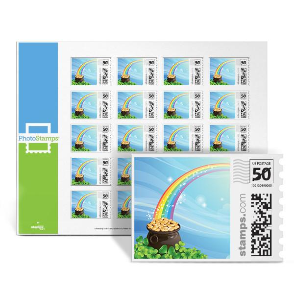 Pot of Gold PhotoStamps