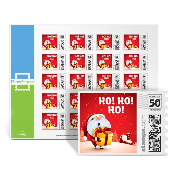 Santa's Gift PhotoStamps