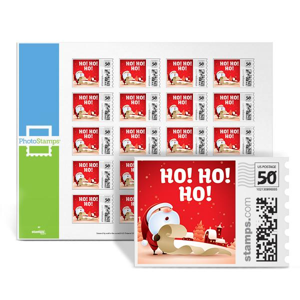 Santa's List PhotoStamps
