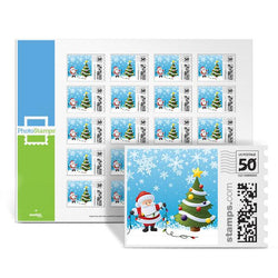 Santa's Tree PhotoStamps