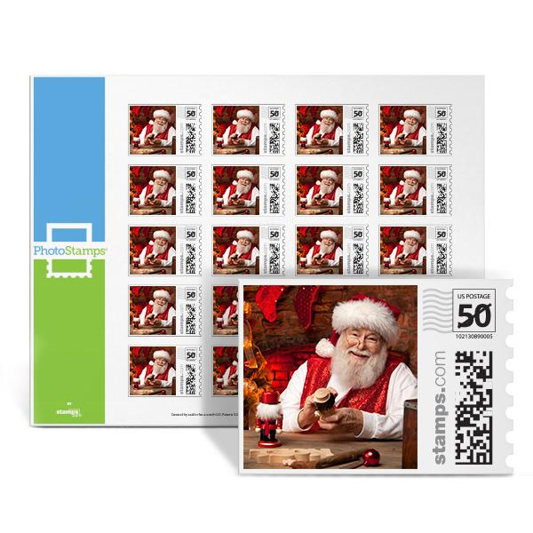Santa's Workshop PhotoStamps