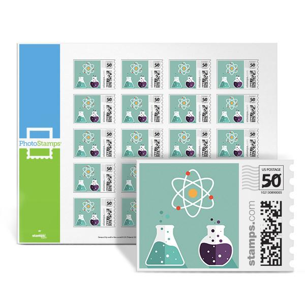 Science Lab PhotoStamps