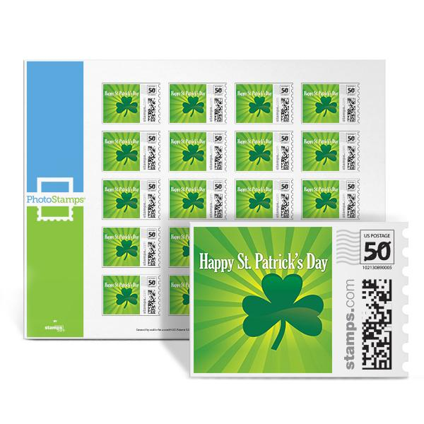 Shamrock Pride PhotoStamps