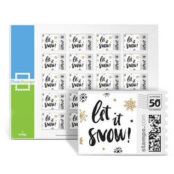 Sparkle Snow PhotoStamps