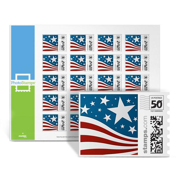 Stars & Stripes PhotoStamps