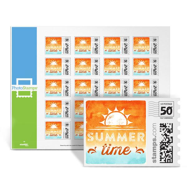Summer Time PhotoStamps