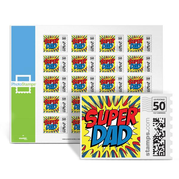 Super Dad PhotoStamps