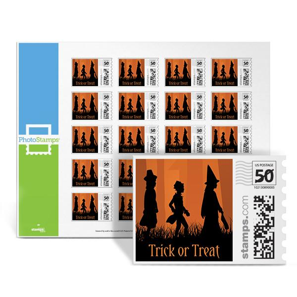 Trick or Treat PhotoStamps