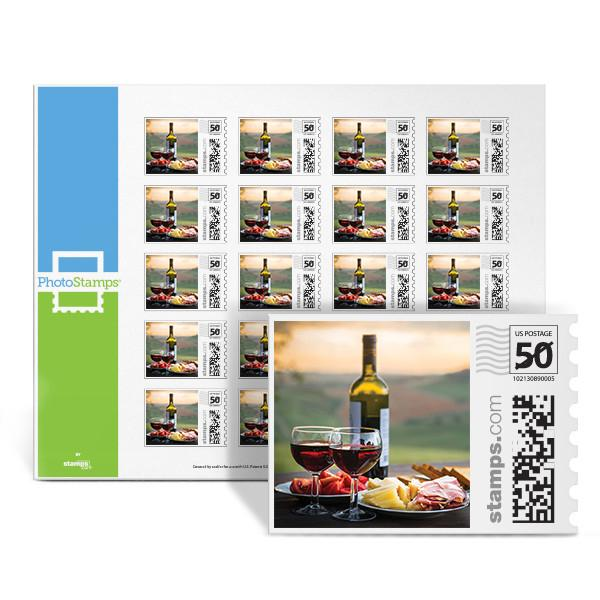 Vineyard Picnic PhotoStamps