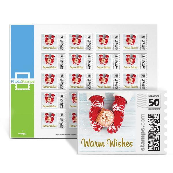 Warm Wishes PhotoStamps