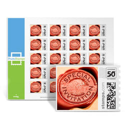 Wax Seal Invitation PhotoStamps